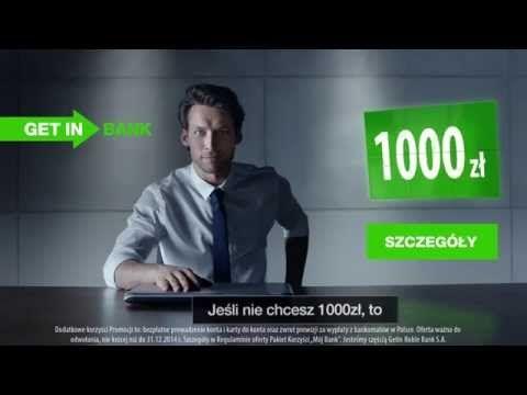 Getin Bank - Konto Getin UP z Pakietem Korzyści - Zarabiaj nawet 1000 zł rocznie - YouTube