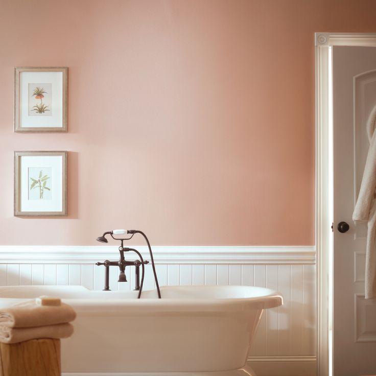 47 best paint colors images on pinterest neutral paint - Color rosa palo ...