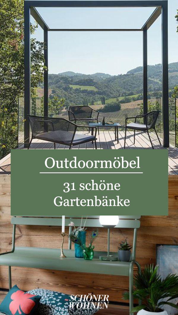 Luxembourg Von Fermob Bild 12 Gartenbanke Gartenbanke Wetterfest Garten Terrasse