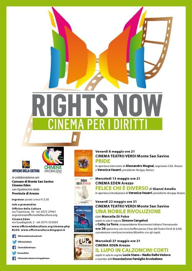 """""""Rights Now – Cinema per i diritti"""", la rassegna di cinema sui diritti civili si apre con """"Pride"""""""