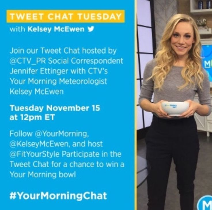 Tweet Chat Tuesdays with Kelsey McEwan - #YourMorningChat