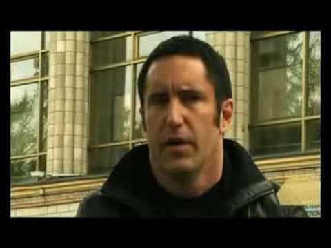 Трент Резнор [NIN]. Интервью каналу А1. ЧАСТЬ 1. Trent Reznor - russian interview