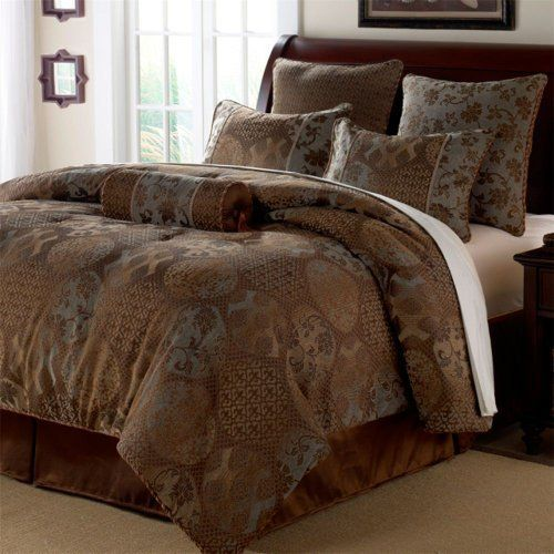 Chris Madden King Chocolate Bedding