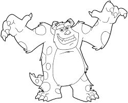 Image result for sully monsters inc drawing