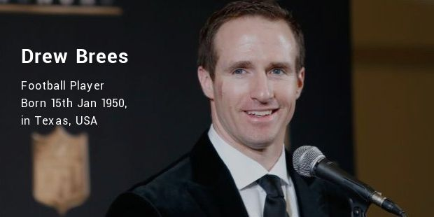 Drew Brees : The Illustrative Career Continues.