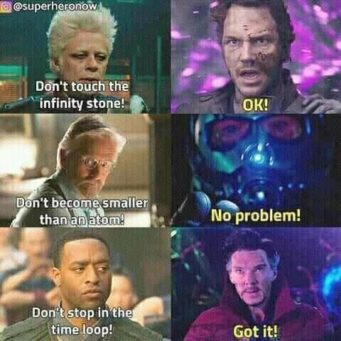 """Since when has anyone followed rules?<<<Natasha: """"Don't help Bucky"""" Steve: *ignores advice*"""