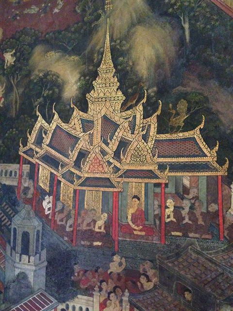 Tapeta chrámu