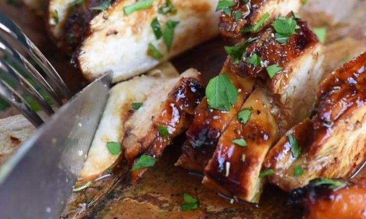 Balsamique, cassonade et Dijon! La meilleure marinade pour votre poulet... c'est assurément celle-ci!