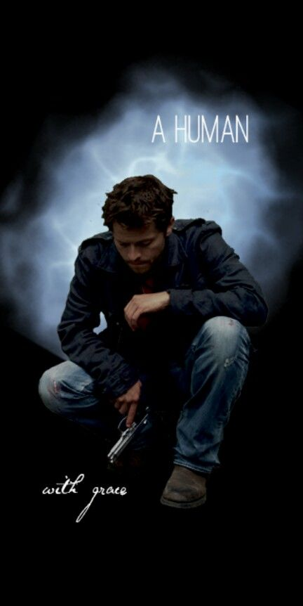 This is an amazing picture of Castiel.