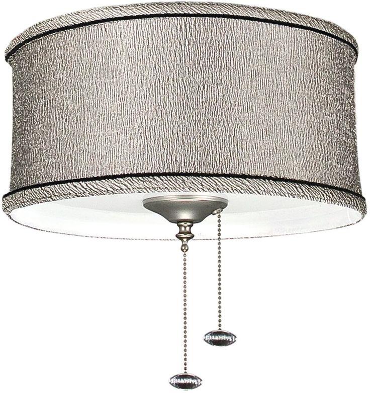 ceiling fan light kit kohiba pewter - Ceiling Fan Light Kits
