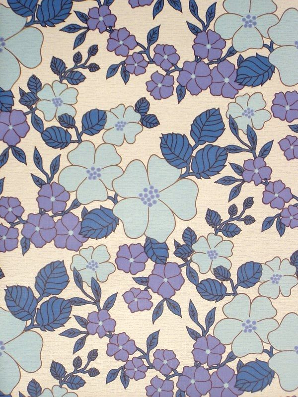 Check out this website for color/design inspiration...Original vintage wallpapers and vinyl wallcoverings from the sixties & seventies (you can search by color, period, style, room, and manufacturer)