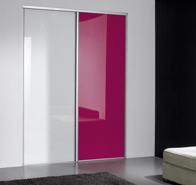 #Coulidoor #porte #coulissante #placard #pink