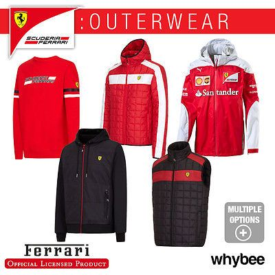 Ferrari f1 formula one team mens outerwear #jackets #sweatshirts #fleece gilet co,  View more on the LINK: 	http://www.zeppy.io/product/gb/2/182370845182/