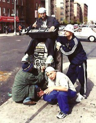 New York 1980s - Photo by Jamel Shabazz