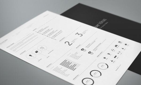 Currículo criativo, por Fernando Báez http://www.designerd.com.br/5-modelos-de-curriculos-criativos-para-voce-baixar-e-se-inspirar/