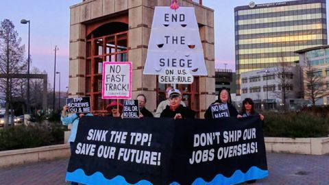 The Battle Over the Trans-Pacific Partnership and 'Fast Track' Gets Hot | BillMoyers.com