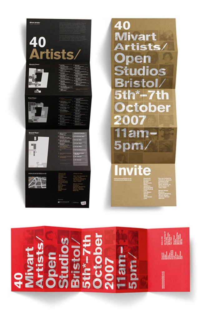 Brochure design ideas Mivart Studios