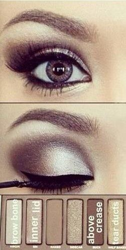 I You Have The Naked Pallet Here's A Look To Try #Beauty #Trusper #Tip