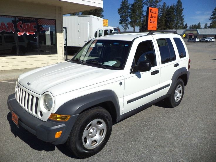 2006 Jeep Liberty 4dr Sport 6-Speed Manual 4dr Sport