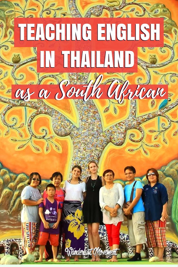 What You Need To Know About Teaching English Abroad in Thailand as a South African | Wanderlust Movement