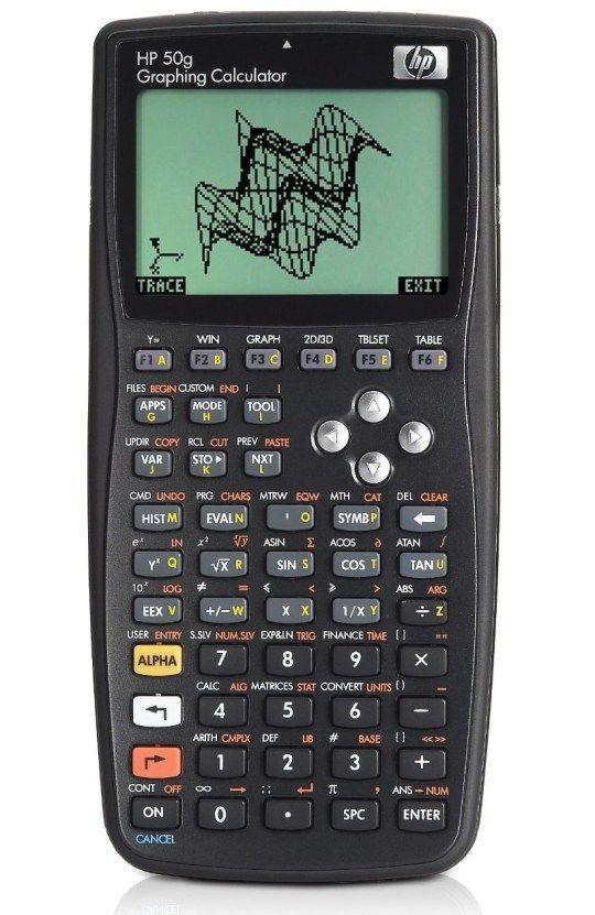 TE AMO --- HP 50g Graphing Calculator