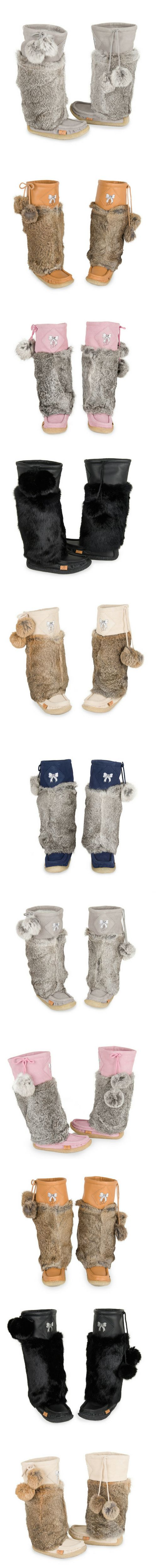 Lukluks the most comfortable womens boots made of rabbit fur and leather perfect for fall/ winter 2016