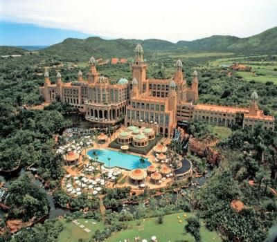 Palace of the Lost City, Sun City, South Africa