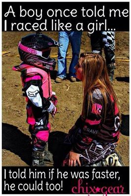 Female Racer's - Ya Gotta Love Em's photo.