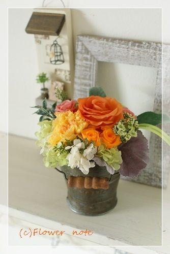 『【今日の花贈】小さいサイズも人気です』 http://ameblo.jp/flower-note/entry-11598970432.html
