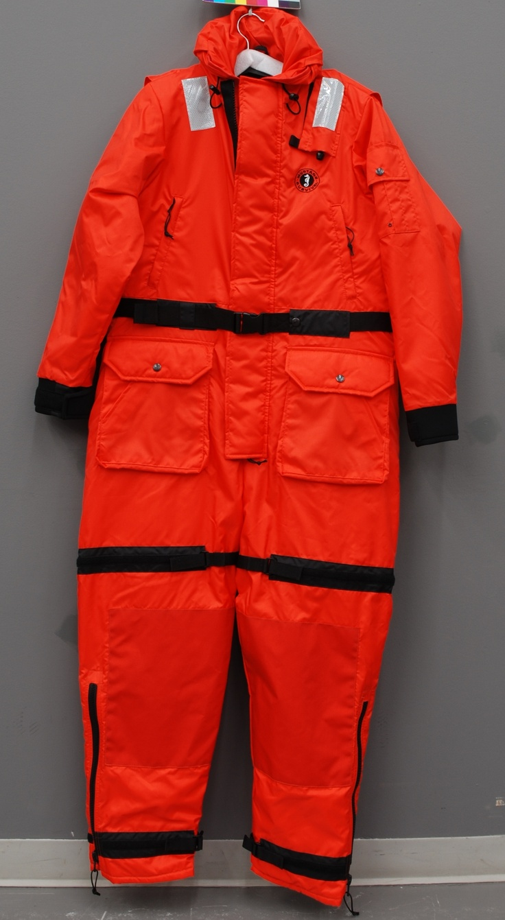 2011 Mustang MS2195 Survival suit worn by workers during ...