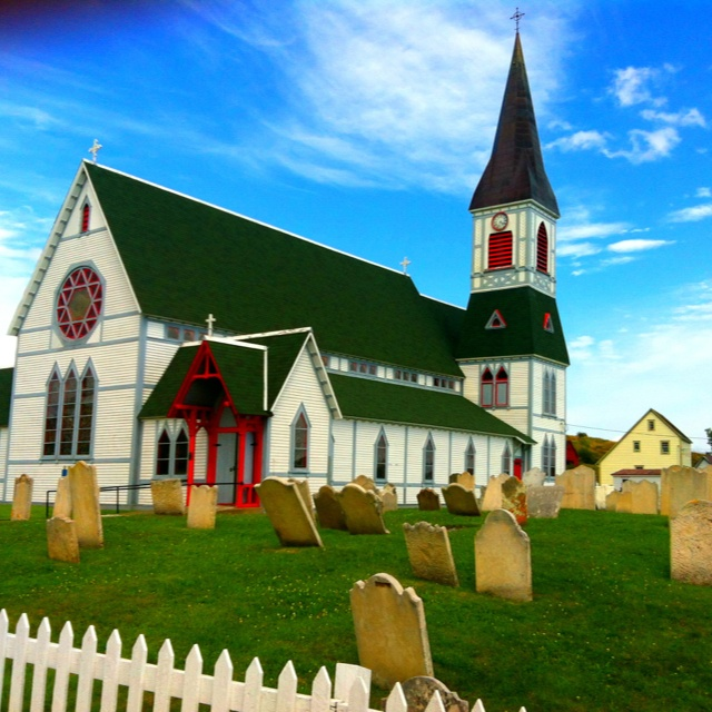Trinity church, Newfoundland, Canada