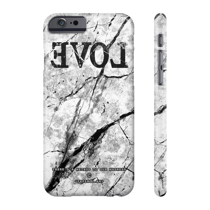 EVOL WHITE MARBLE iPhone cases