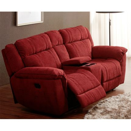 80  Cranberry Microfiber Power Reclining Console Loveseat   furniture   Pinterest   Consoles Power reclining loveseat and Upholstery  sc 1 st  Pinterest & 80