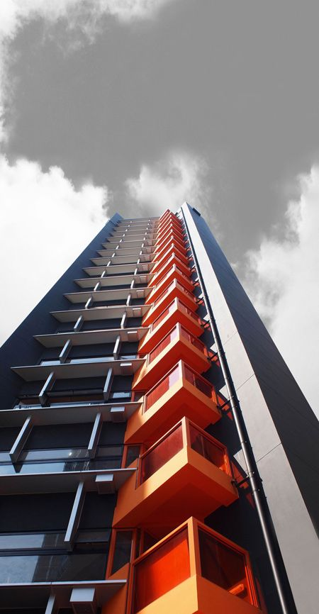 Apartment tower block, Gary Chang. Hong Kong