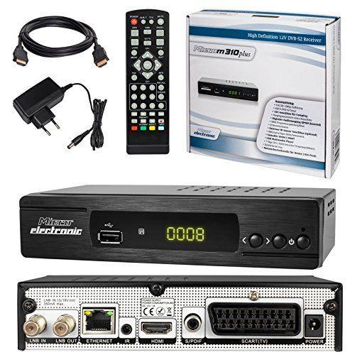 SATELLITEN SAT RECEIVER ✨ HB DIGITAL DVB S/S2 SET: Microelectronic DVB S/S2 Receiver + HDMI Kabel mit Ethernet Funktion und vergoldeten Anschlüssen (HD Ready, HDTV, HDMI, SCART, USB 2.0, LAN, S/PDIF und IR Ausgang) sieht in Design, Funktionen und Funktion gut aus. Die beste Leistung dieses Produkts ist in der Tat einfach zu reinigen und zu kontrollieren. Das Design und das Layout sind absolut erstaunlich, die es wirklich interessant und schön machen.....
