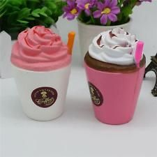 Coffee Cup Soft Squishy Squeeze Slow Rising Cream Scented Stress Relif Q