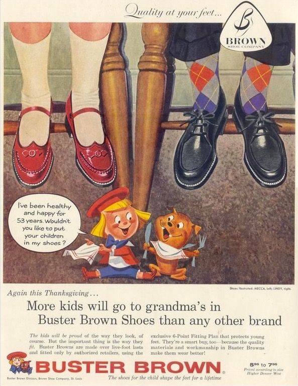 Vintage Shoes Image By J E Hart On Those Shoes Buster Brown