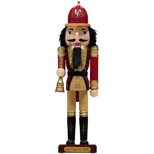 San Francisco 49ers Nutcracker Figurine - NFL #TheMemoryCompany