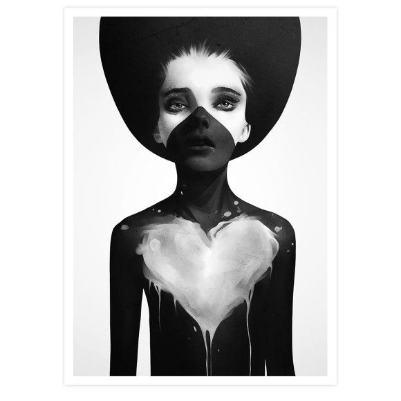 Hold On by Ruben Ireland Art print | hardtofind.