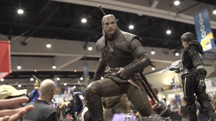 These Witcher & Bloodborne Statues Are Intense