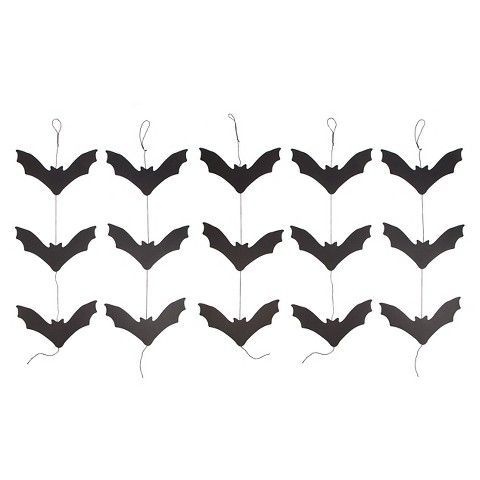 hanging bats simple but perfect for hanging from the ceiling they really fill indoor halloween decorationsparty decoration - Halloween Bat Decorations