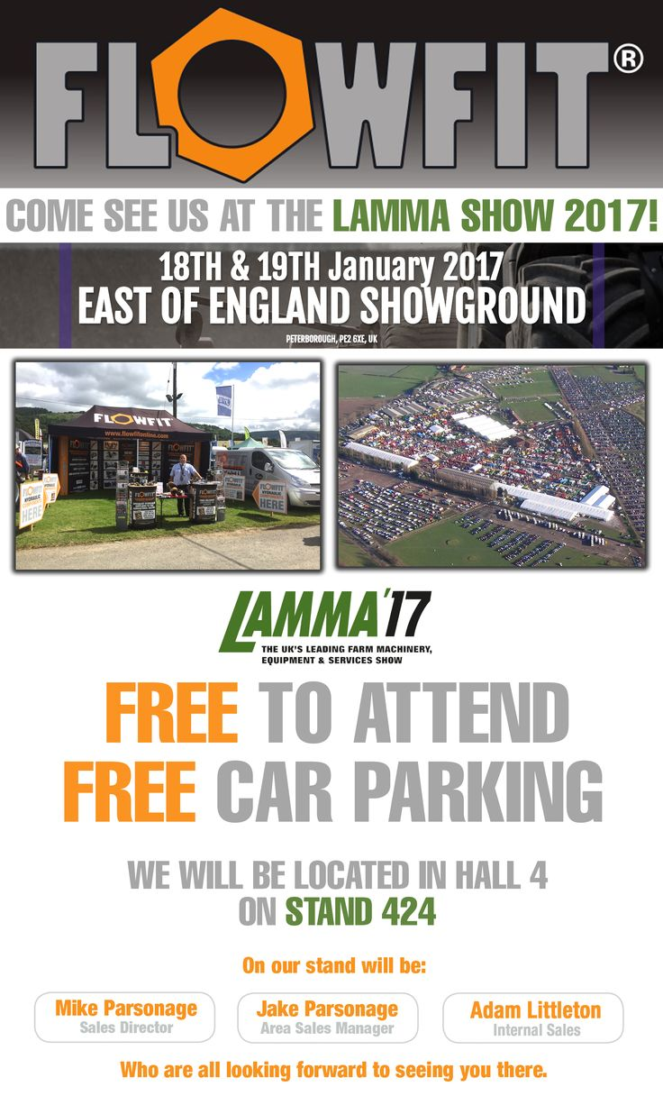 We'll be at the LAMMA Show tomorrow! Are you? Stop by for a chat in Hall 4 on Stand 424! See you there! #LAMMA17
