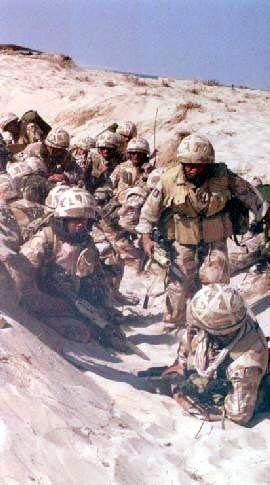 <b>Körfez Savaşı</b>  Amerikan askerleri