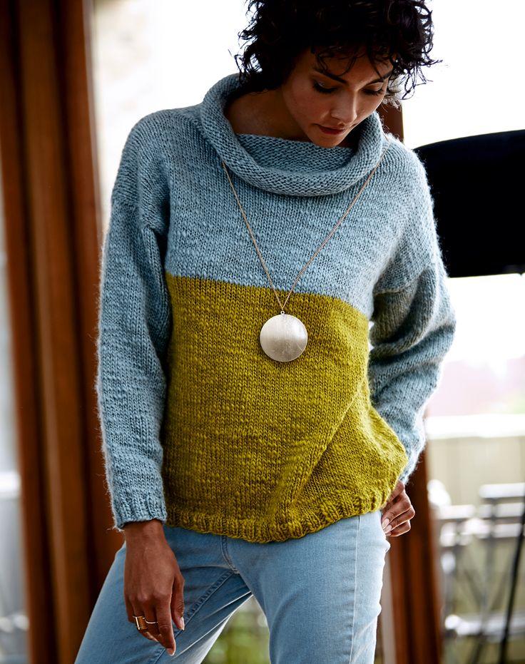 Бесшовный свитер