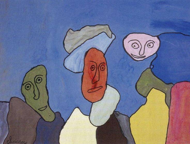 Gaston Chaissac : Sans titre (1962)