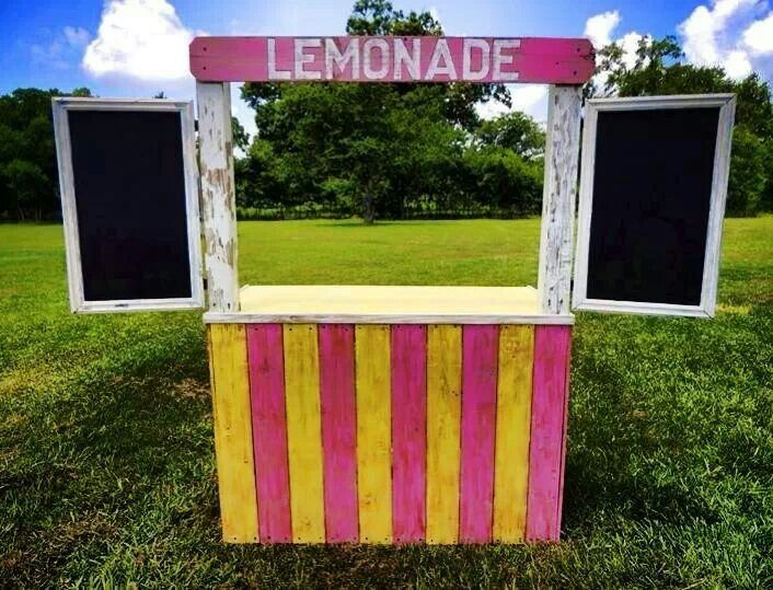 lemonade stand kid stuff pinterest