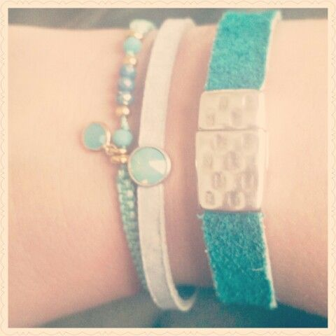 Dwh jewelry en polder_parel armbanden thanks voor dit leuke cadeau! Loving it! ❤ #armparty #armcandy