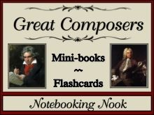 Great Composers mini books $2: Compo Minis Books, Minis Books Flashcard, Hs Music, Teaching Music, Compos Minis Books, Flashcard Westmus, Minis Books Cc, Flashcard Currclick, Notebooks Nooks