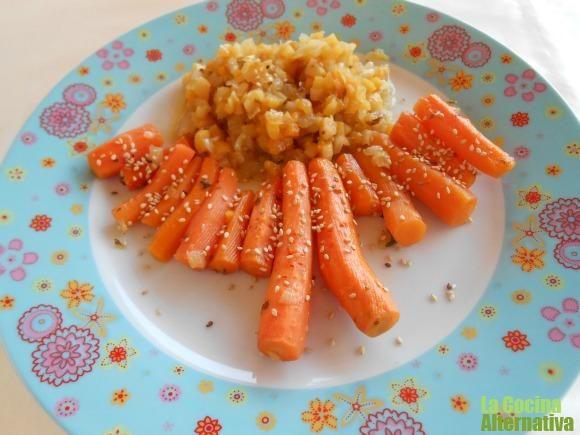 Receta de zanahorias confitadas                                                                                                                                                                                 Más