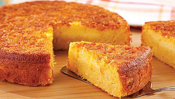 BOLO CURAU DE MILHO VERDE. Aprenda a fazer esse delicioso Bolo Curau de Milho Verde e surpreenda-se. Experimente! Você vai adorar!